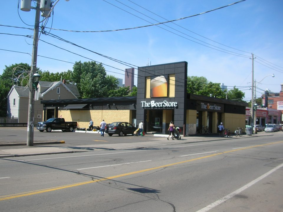 227 Gerrard St. Beer Store, Toronto ON