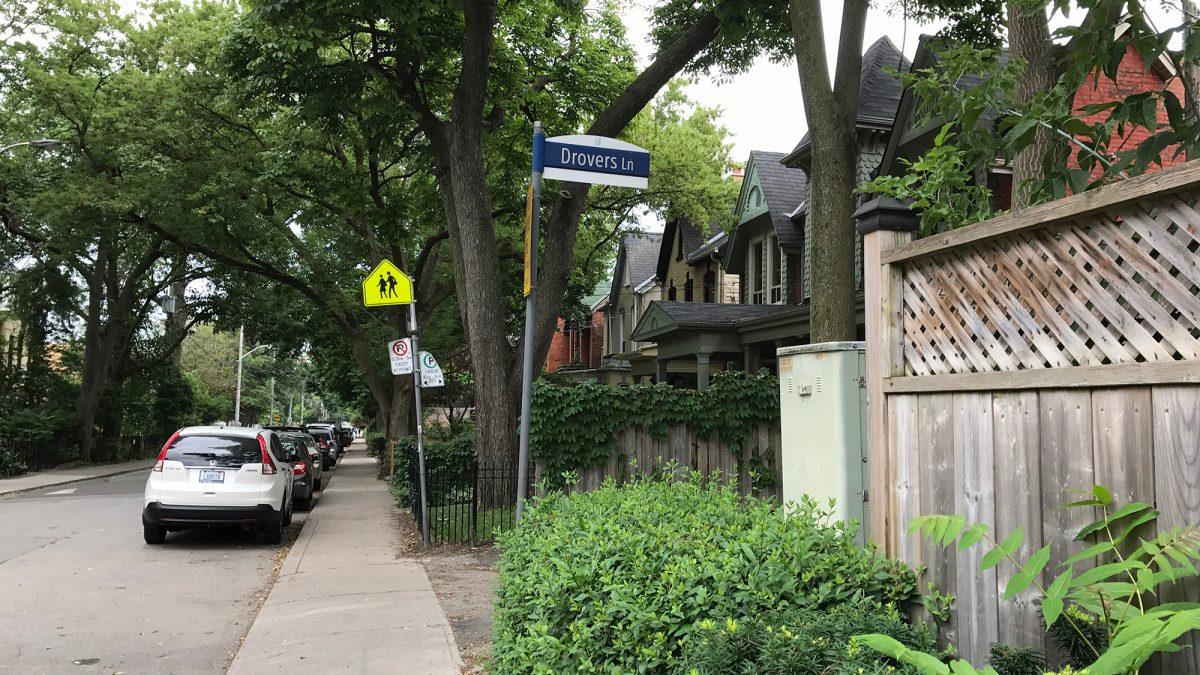 Drovers Lane - Toronto Ontario