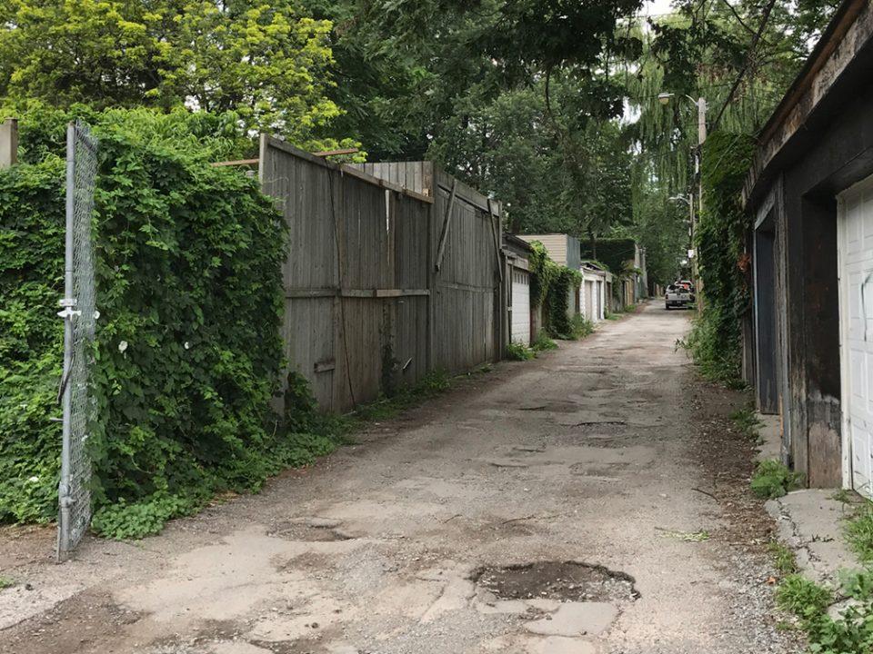Calgie Lane - Cabbagetown South