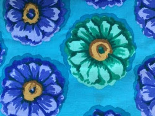 Blue Blossoms Face Mask