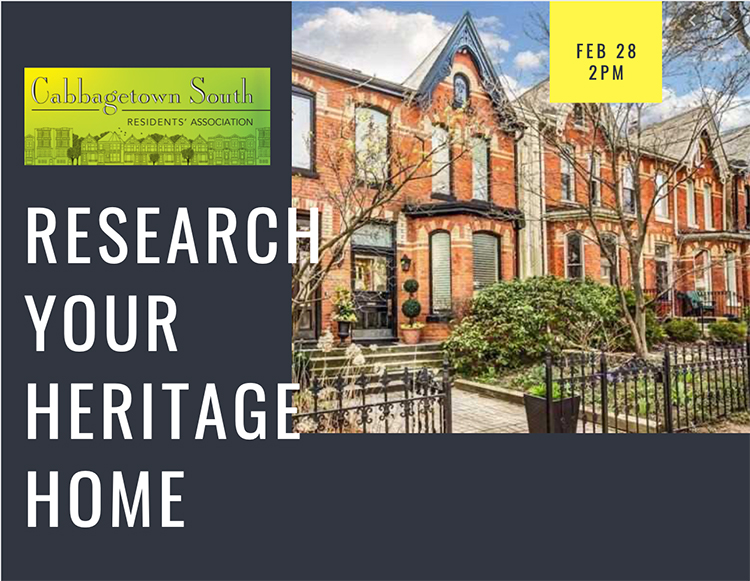 Research your Historic Home